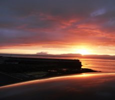 Creevy Pier Sunset Ballyshannon